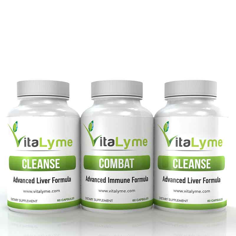 VitaLyme product bottles